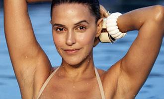 Neha Dhupia will surprise you in her nature inspired bikini