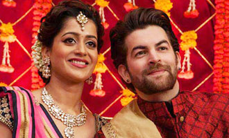Neil, Rukmini celebrate first Karwa Chauth on 'Firrkie' set
