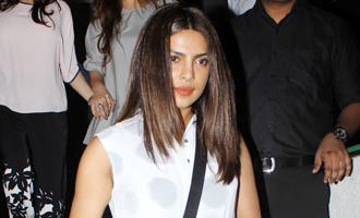 Priyanka Chopra Spotted at Hakkason Restaurant Bandra