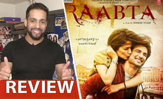 Watch 'Raabta' Review by Salil Acharya