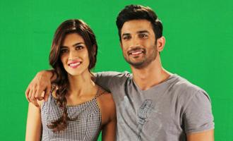 Kriti Sanon & Sushant Singh Rajput at 'Raabta' Media Interview