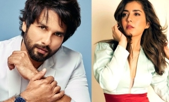 Raashi Khanna castes alongside Shahid Kapoor in his debut web series.