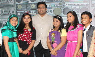 A R Rahman Celebrates Mom's Day With Sa Re Ga Ma Pa Li'l Champs