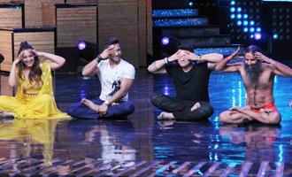Baba Ramdev On Sets of Nach Baliye Season 8
