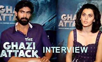 Taapsee Pannu, Rana Daggubati Talk On 'The Ghazi Attack'