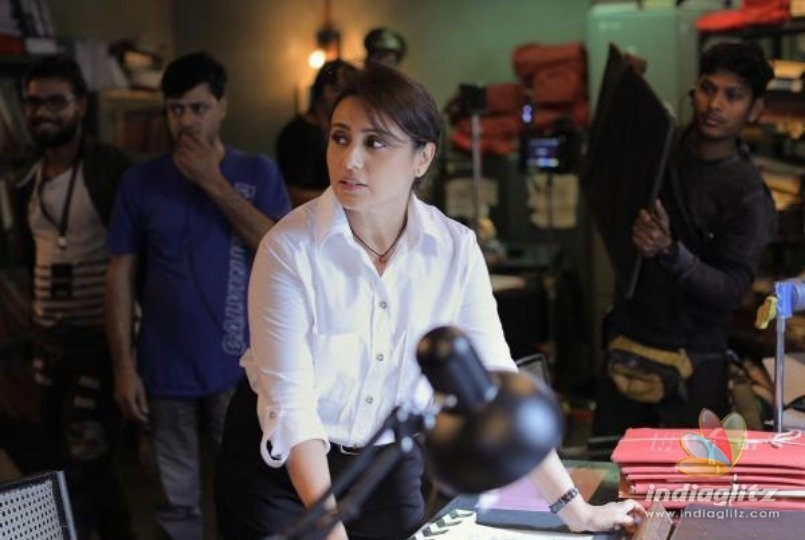 Rani Mukerji Begins Shooting For 'Mardaani 2' & Her First Look Is Out!