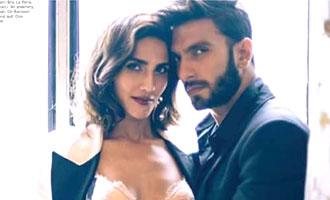 HOT: Ranveer & Vaani sizzle for Harpers Bazaar Bride India!