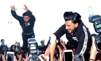 Ranveer Singh hurts crowd!