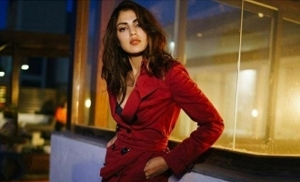 Rhea Chakraborty makes a comeback on social media