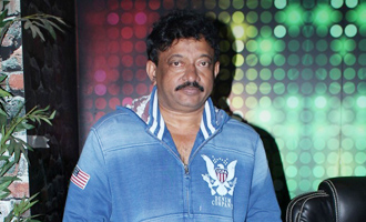 Ram Gopal Varma at Web Series 'Guns & Thighs' Press Meet