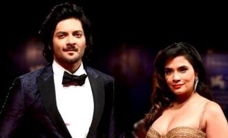Ali Fazal and Richa Chaddas first collaboration