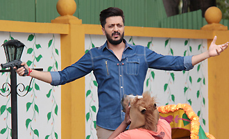 Riteish Deshmukh Promotes 'Bank Chor' On Set of Chidiya Ghar