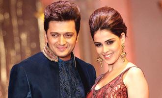 Riteish Deshmukh as Shivaji for Genelia!
