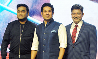Sachin Tendulkar's Biographical Film 'Sachin: A Billion Dreams' Song Launch