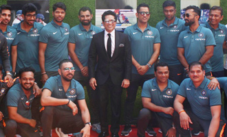 Indian Cricket Team at Special Screening of Film 'Sachin - A Billion Dreams'