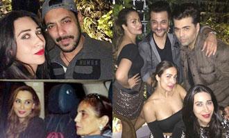 Salman Khan With Girlfriend Iulia Vantur at Seema Khan's Birthday Bash