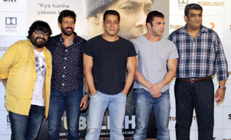 Salman Khan, Sohail Khan at 'Tubelight' Trailer Launch