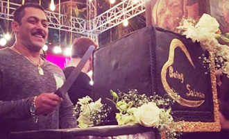 Salman Khan's grand 50th birthday celebrations: IN PICs
