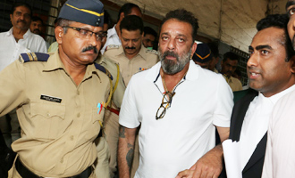 Sanjay Dutt Spotted at Andheri Court