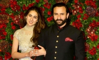 Saif Ali Khan reveals what he feels about seeing Sara Ali Khan on big screen.