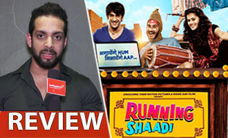 Watch 'Running Shaadi' Review by Salil Acharya