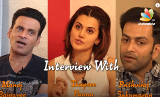 Taapsee Pannu, Prithviraj & Manoj Bajpayee Talk On 'Naam Shabana'