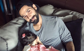 Best feeling ever: Shahid on daughter Misha