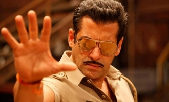 Salman Khan Kick-starts His Shoot For 'Dabaang 3'