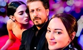 Sonakshi Sinhas Selfie with Deepika Padukone And Shah Rukh Khan Is Too Adorable