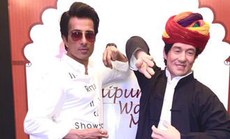 Sonu Sood reveals Jackie Chan's wax figure in Jaipur