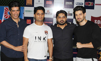 Sooraj Pancholi at Launch of 1st Edition of Super Soccer Tournament
