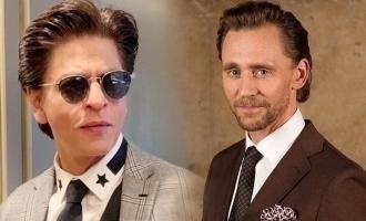 Shahrukh Khan responds to Tom Hiddleston's admiration for him