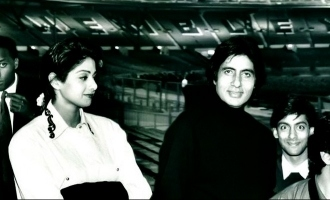 Amitabh Bachchan Shares A Throwback Pic With Late Actress Sridevi And Superstars!