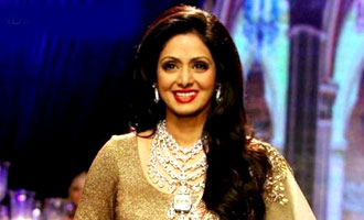 Sridevi: Walking the ramp is always special
