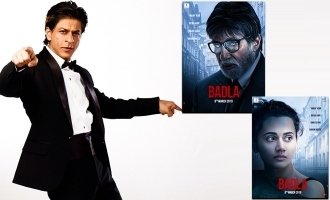 Shah Rukh Khan Shares The First Posters Of Amitabh Bachchan And Taapsee Pannus Badla