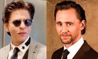 Tom Hiddleston talks about his favourite Shahrukh Khan movie