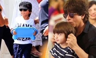 Shah Rukh Khan Says Son AbRam Khan Is A Happy Prince  Know Why