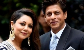 Shahrukh Khan's witty remark on wife Gauri Khan's award win.