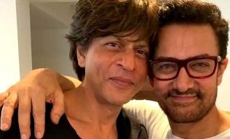 Shahrukh Khan to make a cameo appearance in Amir Khan's 'Lal Singh Chadda'.