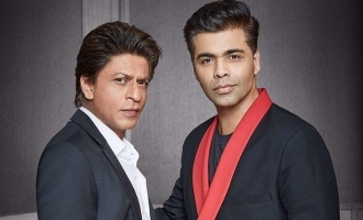 This Is How Shah Rukh Khan Reacted To Karan Johar's Controversy!