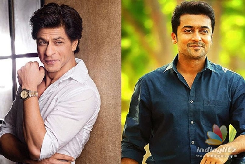 Shah Rukh Khan And Suriya To Have Cameos In This Biopic!