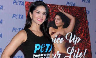Sunny Leone Launches PETA Newest Vegetarian Campaign