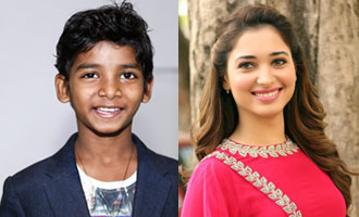 Sunny Pawar, Tamannaah unite for film on 'Beti Bachao Beti Padhao' campaign