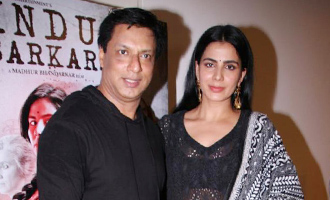 Kirti Kulhari & Madhur Bhandarkar at Launch of Popular Qawali 'Chadhta Sooraj' Film 'Indu Sarkar'
