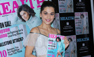 Taapsee Pannu Unveils Health & Nutrition August Issue