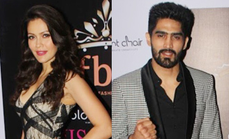 Vijender Singh, Krystle D'Souza at Red Carpet To Celebrate Evening of Tamasha