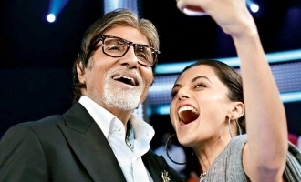 Taapsee Pannu talks about the experience of being Big B's co star.