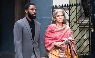 Dimple Kapadia announces the release of Tenet in India