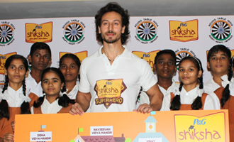 Tiger Shroff Joins P&G Shiksha Super Hero Movement