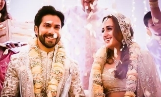 Varun Dhawan shares heartwarming pictures from his wedding ceremony.